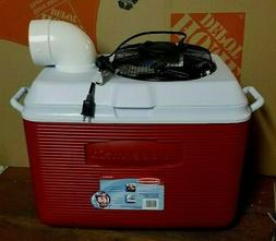 Onos LG 48qt Portable Air Conditioner Home Camping Ice Chest