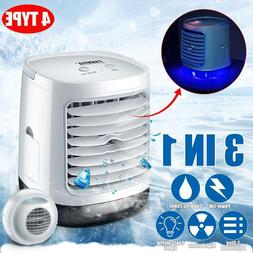 500ml Portable Air Conditioner Humidifier Space Cooler Purif