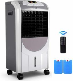 COSTWAY Evaporative Cooler and Heater, Portable Air Cooler w