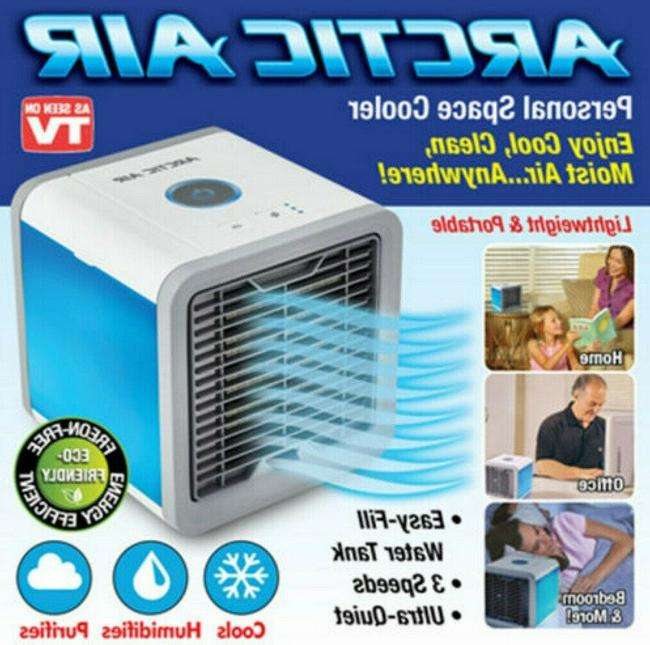 conditioner portable fan personal air cooler humidifier