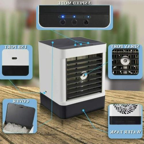 Evaporative Mini Humidifier Air Cooling Fans