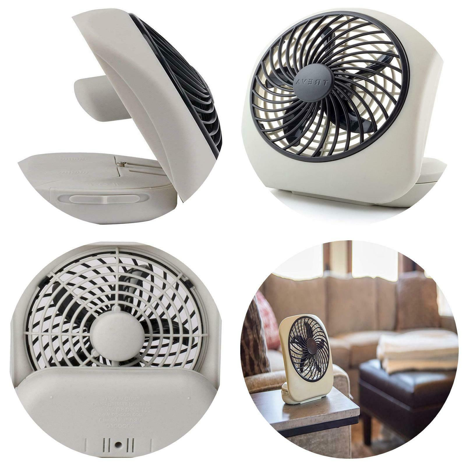 O2COOL 5 Inch Portable Fan Camp Two Speed