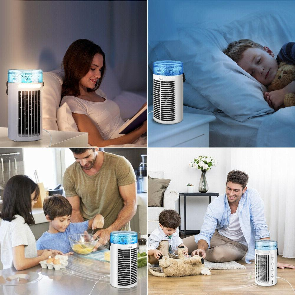 Portable Air Conditioner 8 LED