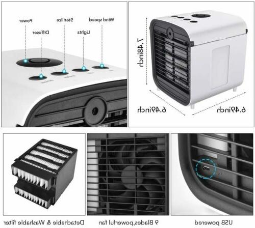 Portable Cooler Humidifier Air Cooling