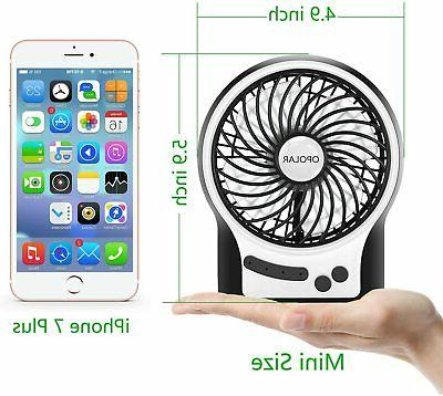 Portable Rechargeable Fan Air Operated