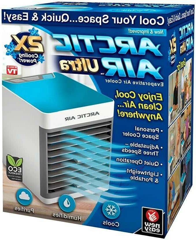 ultra 2x cooling personal portable air cooler