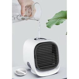 Mini Air Conditioner LED Cooler Small Humidifier Room Travel