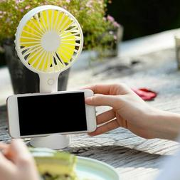 Mini Handheld Fan Usb Rechargeable Summer Portable Air Coole