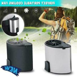Mobile Air Conditioning Cooler USB Waist Fan Portable Mini F