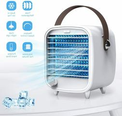 Personal Air Cooler with Ice Tray Portable Air Conditioner F