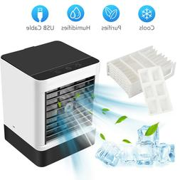 Portable Air Conditioner Cooler Mini Cooling Fan Humidifier