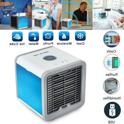Portable Air Conditioner Mini Air Cooler Fan LED Humidifier