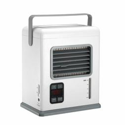 Portable Air Conditioner Mini Air Cooler USB Rechargeable Ha