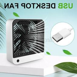 Portable  Air Cooling Fan Conditioner Low Noise USB Charging