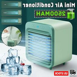 Portable Mini Air Conditioner Cooler Cooling USB 3 Modes Fan