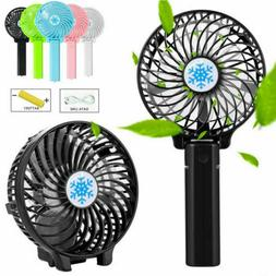 Rechargeable USB Fan Air Cooler Mini Operated Hand Held Prot