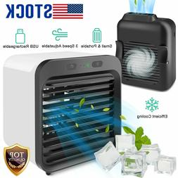 Summer Mini Portable Air Conditioner Cooler Cooling USB Fan